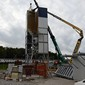 Umbau Mobile Turmanlage Düdingen
