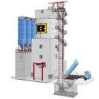 Turmanlage für Fertigteilwerk mit Silo 600 m³ Berger Beton Vilshofen